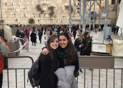 Yonina Silverman at Kotel (002)