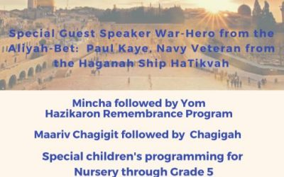 Yom Ha'Aztmaut Children's Programming Hosted By Aryeh Fellows