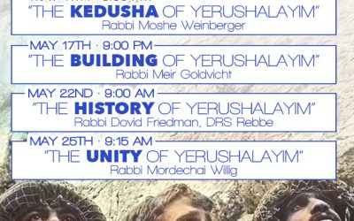 DRS Event for Yom Yerushalayim
