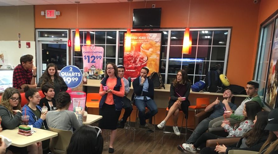 RZA Fellows Host Latte and Learning Program Promoting Aliyah