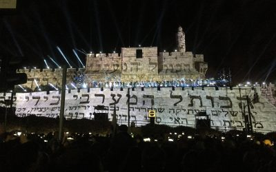 Watch – Incredible Yom Yerushalayim 50 – Sound & Light Show
